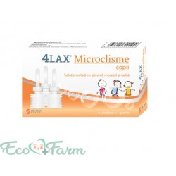 4Lax Microclisme copii x 6...