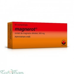 MAGNEROT 500 MG 50 COMPRIMATE