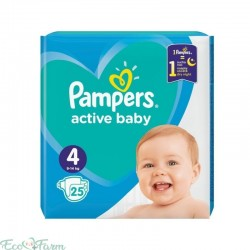 PAMPERS NR 4 ACT BABY 8-14...