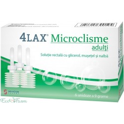 4Lax Microclisme adulti x 6...